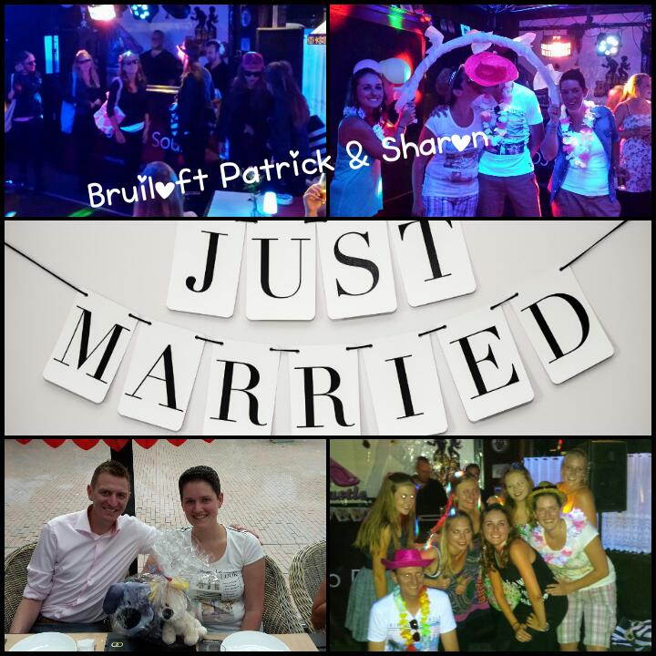 Bruiloft Sharon en Patrick