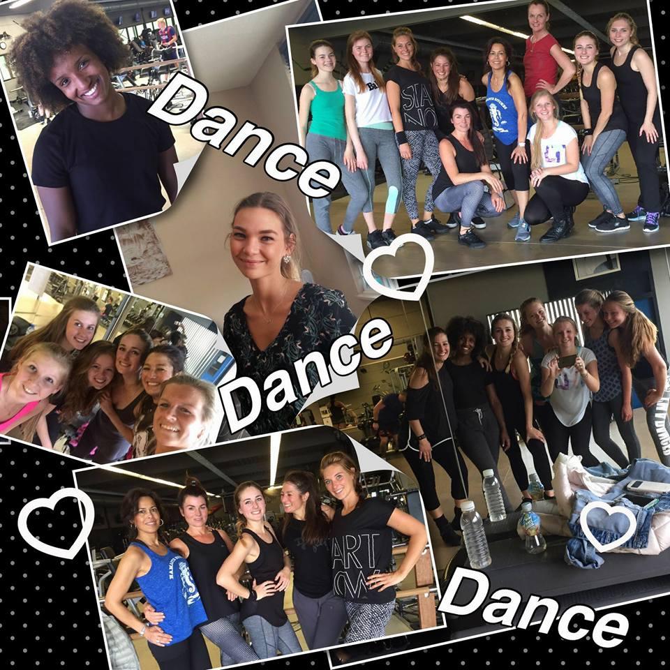 collage danstraining