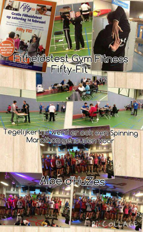 fitheidstest Gym Fitness Fifty Fit
