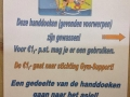 Ben je je handdoek vergeten? Voor 1,- per stuk kan je er een kopen en gaat het geld direct naar Stichting GYM-Support!!
