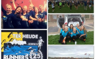 Ter Heijde Runners: Gym-Support verzorgd warming-up