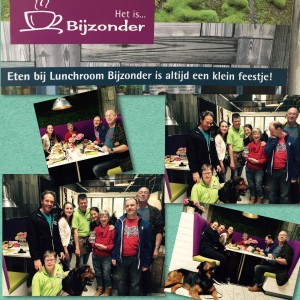 Collage bijzonder lunch