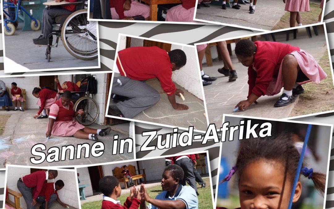 – Gym Fitness lid Sanne naar Zuid-Afrika