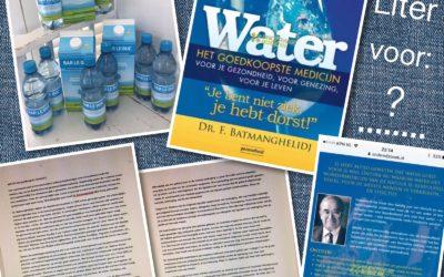 – Actie: Drink genoeg water!