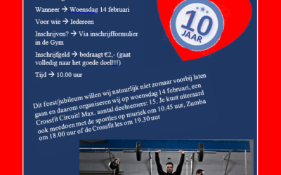 – Stichting Gym-Support 10 jaar!