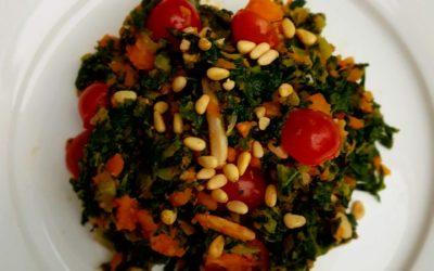 – Recept: Boerenkool roerbak stamppot met zoete aardappel