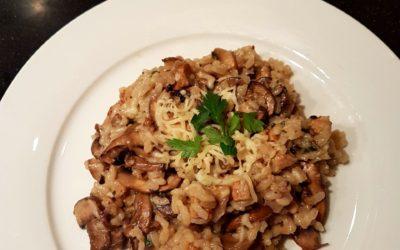 – Recept: Paddenstoelen risotto uit de oven