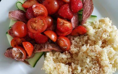 – Recept: Aardbeien salade met couscous