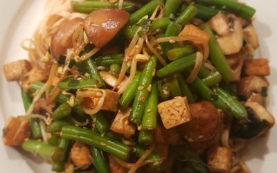 – Recept: Tofu met champignons en sperzieboontjes