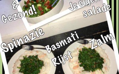 – Recept: Basmati rijst met zalm en spinazie