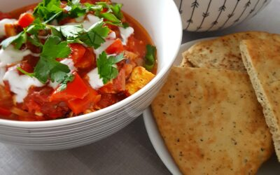 – Recept: Rode curry met paneer