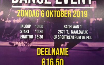 – 6 Oktober – Look Good Feel Better Dance Event