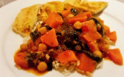 – Recept: Zoete aardappel curry