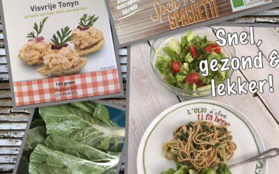 – Recept: Pasta met visvrije tonijn