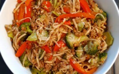 – Recept: Noodles met groente