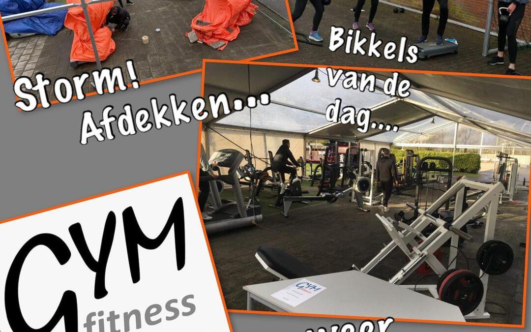 – Gym outdoor weer open na storm!